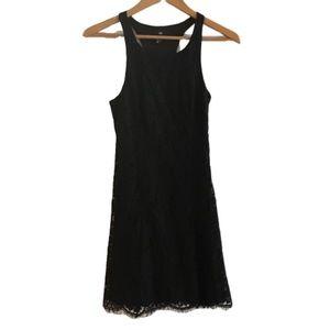 H&M Black Lace Sleeveless Dress
